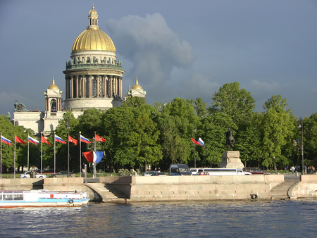 peter the great: St. Petersburg. Russia. Stock Photo