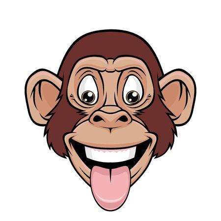 Cool Monkey. Banque d'images - 129012561