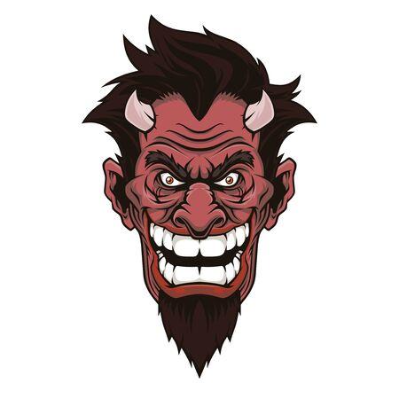 Devil head.