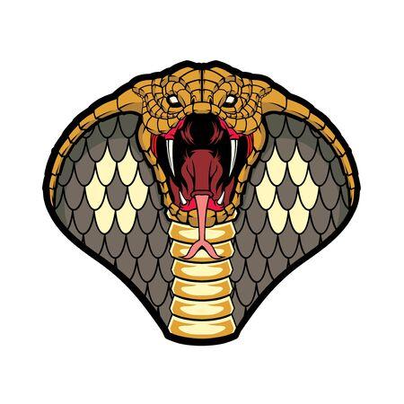 Illustration des Kobra-Kopfes.