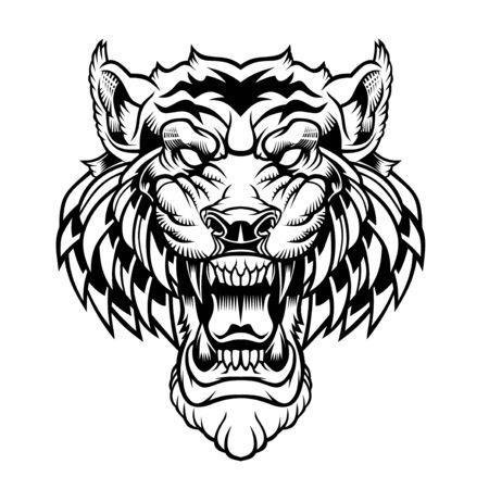 Tiger head.