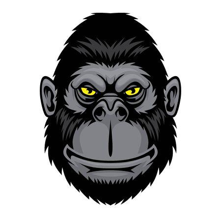 Lustiger Affe. Vektorgrafik