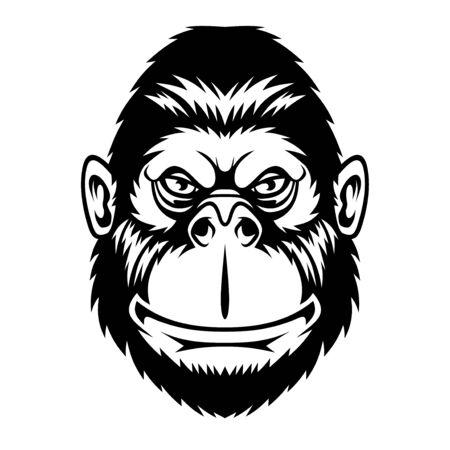 Śmieszna małpa.