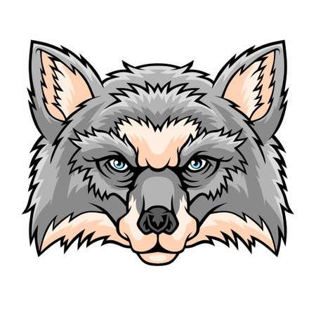 Fox head mascot icon.