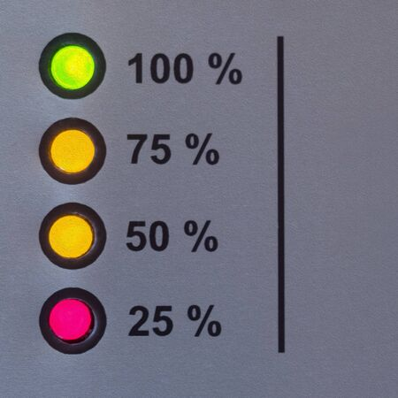 color status indication