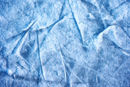 the texture of the snow and ice background. Stock Photo
