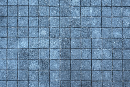 sidewalk tiles close-up, top view