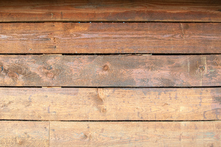 Wood texture background. Rustic wood grain background texture. Wooden wall of long boards.