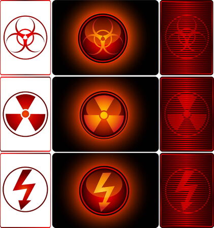 vector nuclear: Danger Signs