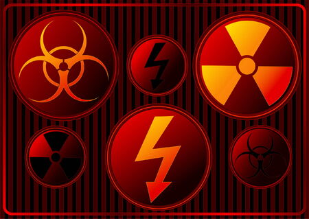 Danger Signs Stock Vector - 4106859