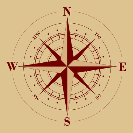 windrose: compass rose