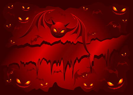 vamp: Evil bats Illustration