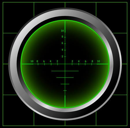 crosshair: Radar screen