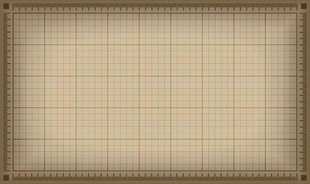 Blueprint background.  Vector