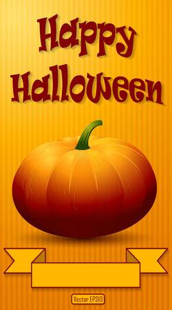 Happy Halloween Background. Vector illustration.  Vector
