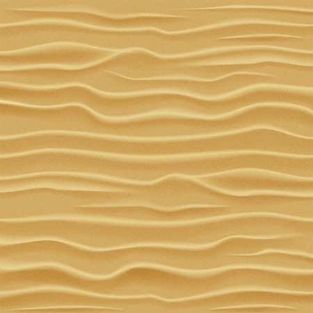 Sand texture. Desert sand dunes - view from a height. Vector illustration.