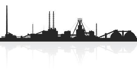 amoniaco: Abonos minerales en plantas aisladas sobre fondo blanco. Ilustración vectorial detallada. Vectores