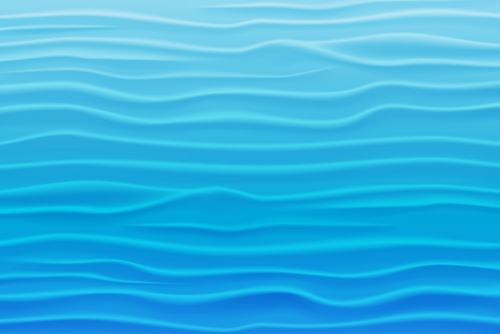 Abstract Water Background of Blue Waves