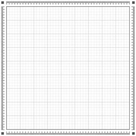 grey scale: Blueprint grey background. Scale grid vector illustration Illustration