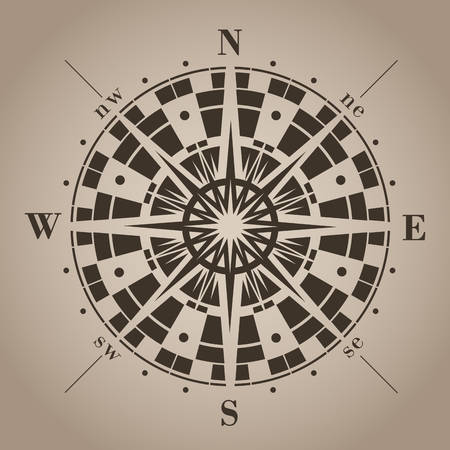 directions icon: Compass