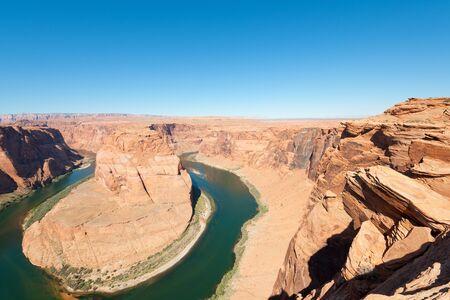 The bend of the Colorado river; USA Stock Photo - 10864823