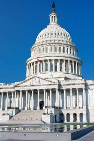 senators: East side view of the United States Capitol Building, Washington; GPS information is in the file