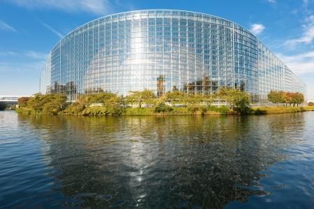 european parliament: Seat of the European Parliament in Strasbourg