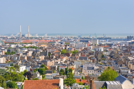 View of Le Havre in a summer day Stock Photo - 21619103