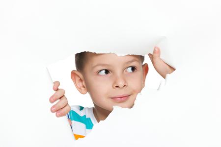 keek: A portrait of a curious little boy