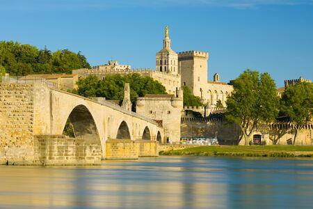 avignon: View of Avignon in a sunny summer day Stock Photo