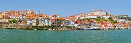 douro: Porto and the Douro river in a sunny summer day