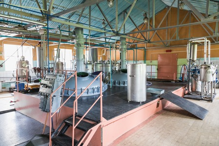 Tank equipment. Pharmaceutical and chemical industry.\ Manufacture on plant\