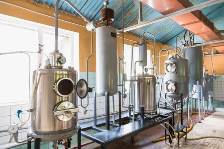 Tank equipment. Pharmaceutical and chemical industry. Manufacture on plant