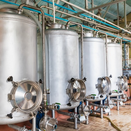 healthcare facilities: Tank equipment. Pharmaceutical and chemical industry. Manufacture on plant