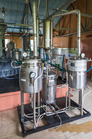 Tank equipment. Pharmaceutical and chemical industry. Manufacture on plant photo