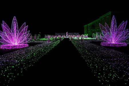 wilanow: Royal Garden of Lights at Wilanow Palace