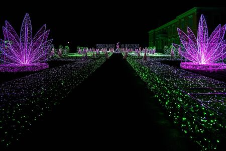 wilanow: Labyrinth of Lights at Wilanow Palace