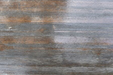 Brown lacquered flooring. The floor is wooden, natural varnished, glossy. Background for design blank.
