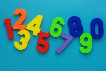 Numbers. photo