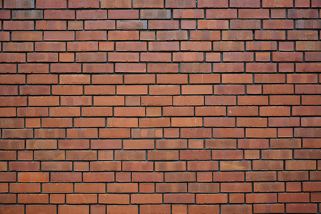 Modern urban wall in brick-pattern style as creative background