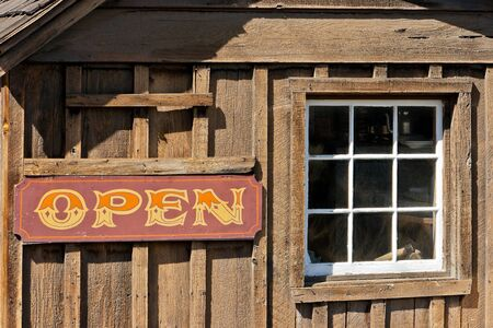 locality: Old cow-boy bar  in rural locality in California
