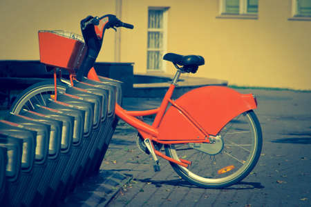 rental agency: Rental of municipal bicycles agency