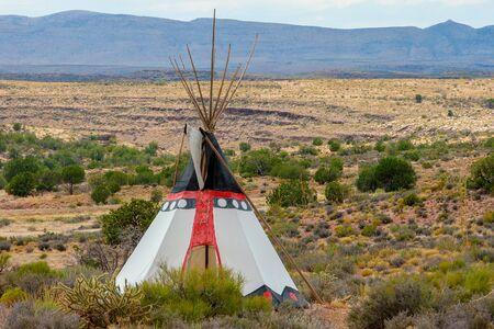 Indian tepee in Arizona