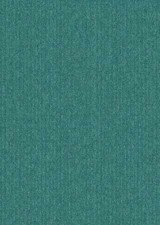 Rough texture of the emerald-colored fabric