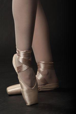 Fermer - pieds de ballerine.