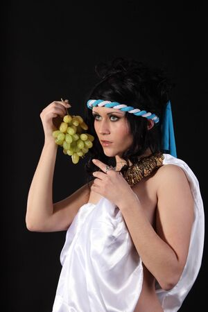 Ancient godness with a bunch of grapes Stock Photo - 9185303
