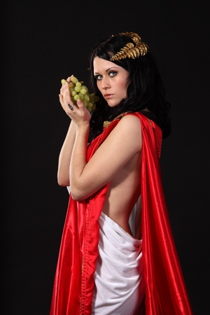 Ancient godness with a bunch of grapes Stock Photo - 9185299