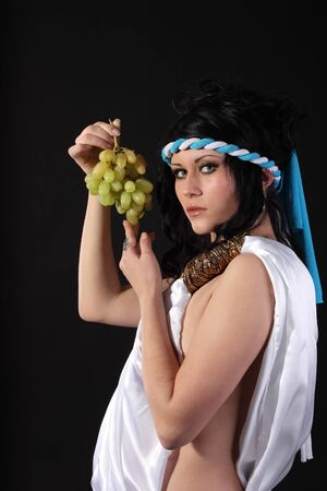 Ancient godness with a bunch of grapes Stock Photo - 9305112