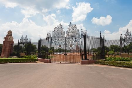 Le parlament de l'Inde � New Delhi Banque d'images