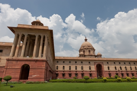 The parlament of India in new Delhi